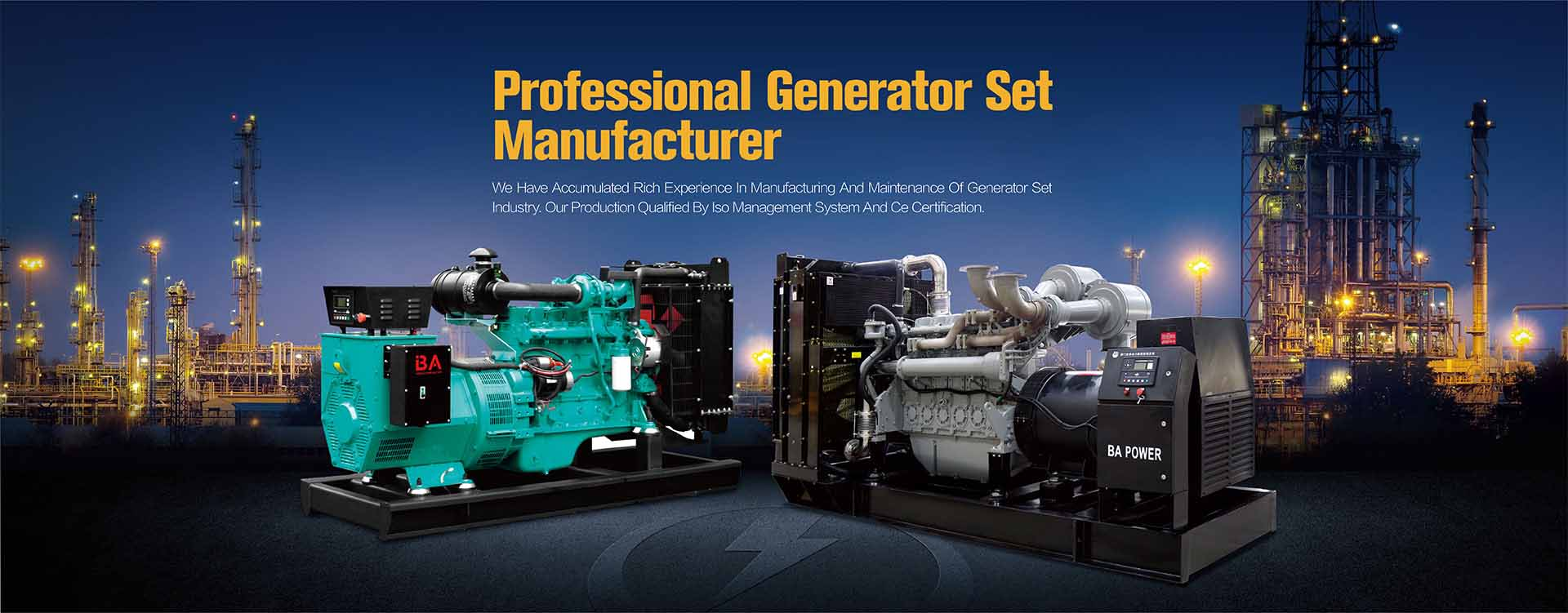 Diesel Generator Suppplier